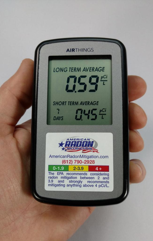 Airthings Home Digital Radon Monitor American Radon