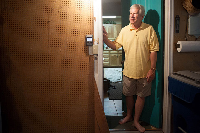 Keith Kuby tested his home for radon before retiring to South Carolina. The test revealed a slight radon problem. Neither testing nor mitigation is required in Minnesota, but Kuby went ahead with both.