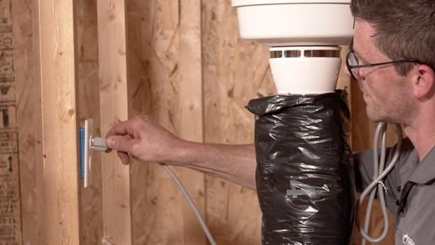 Installing Radon Fan on a passive radon system