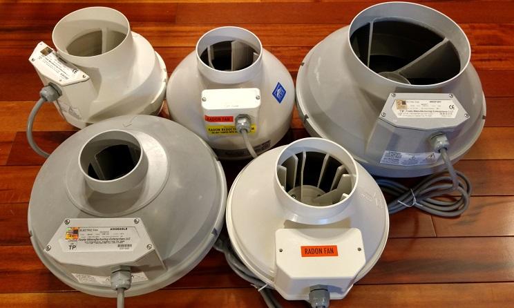 American Radon Mitigation fan selection