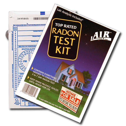 Airchek Short Term Radon Test Kit
